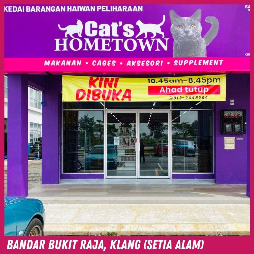 CATS HOMETOWN BANDAR BUKIT RAJA KLANG