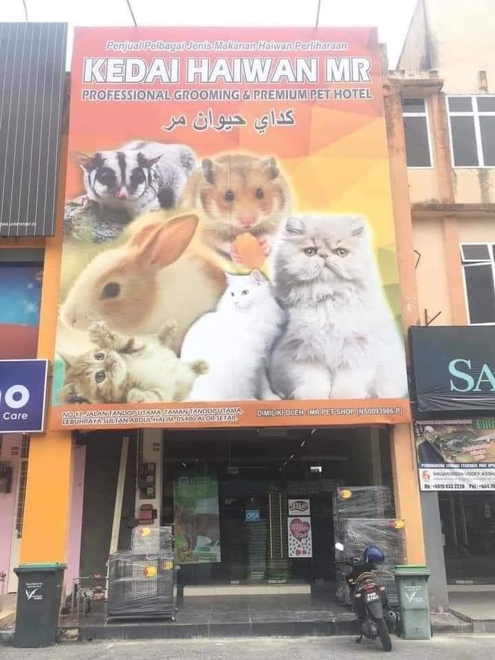 Mr Pet Shop Tandop Alor Star